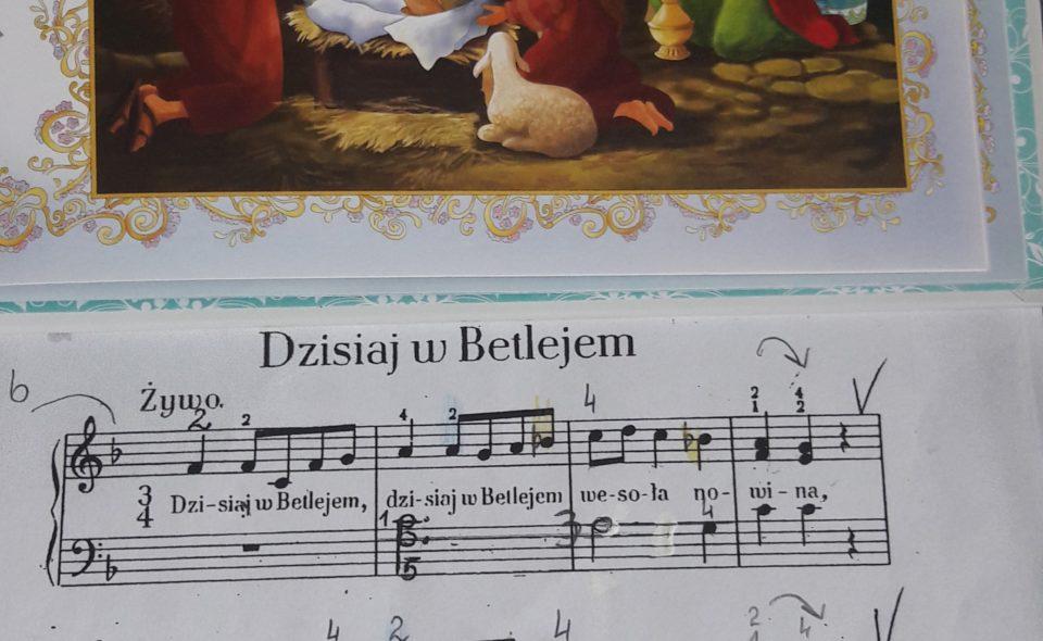 """""""Dzisiaj w Betlejem""""      – nowe zwrotki"""
