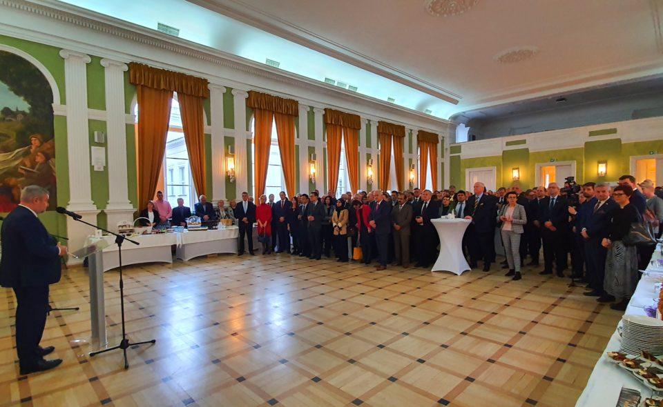 Spotkanie korpusu dyplomatycznego 2020