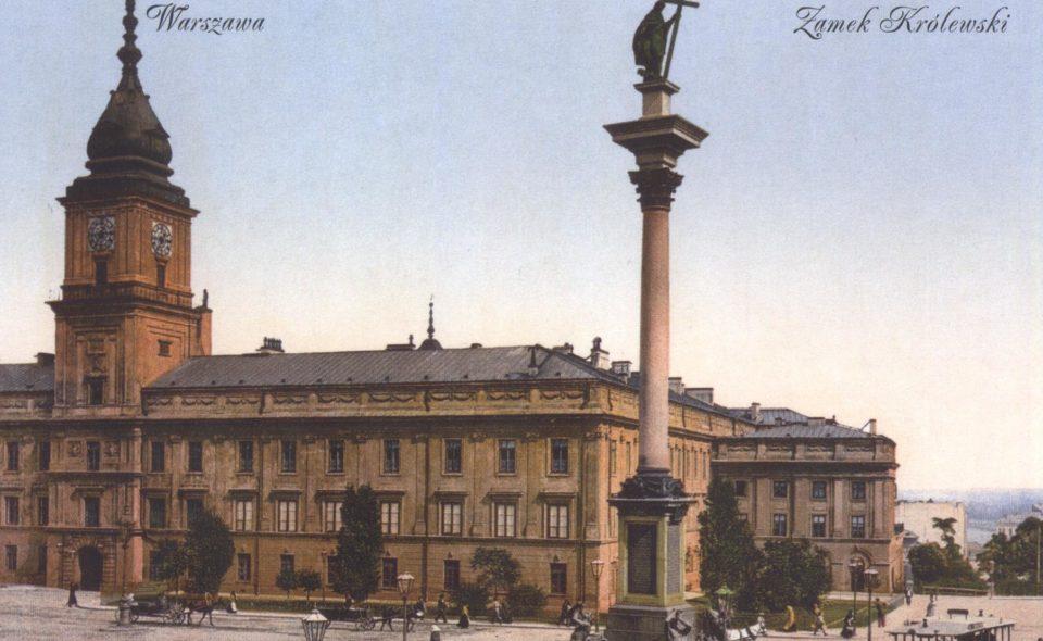 Warszawa na starych pocztówkach