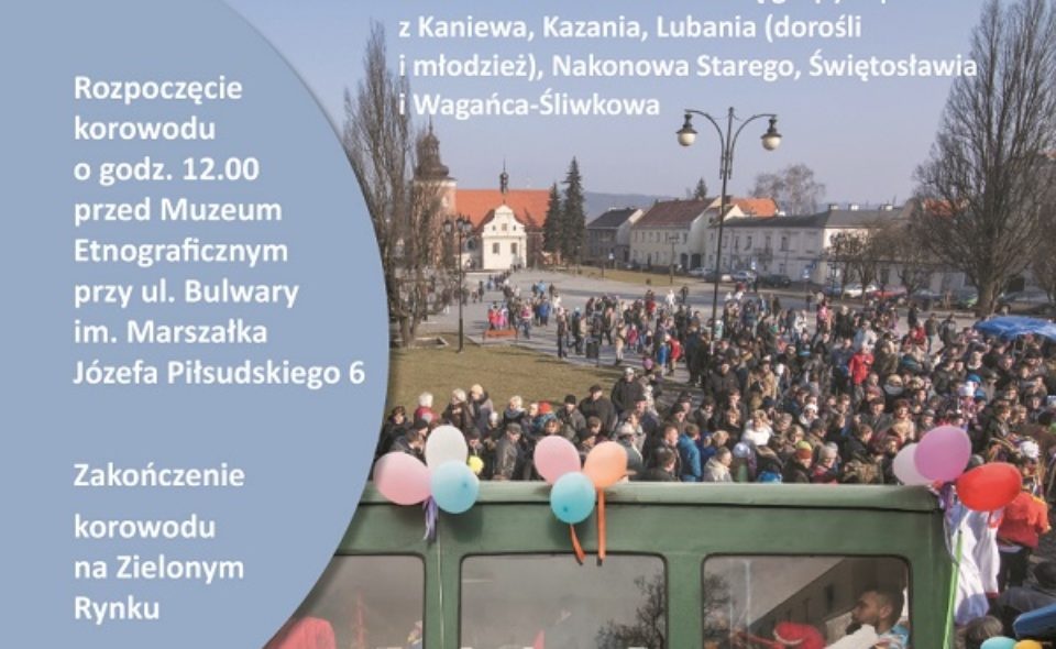31. Korowód Grup Zapustnych. Włocławek, 23 lutego 2020 r.
