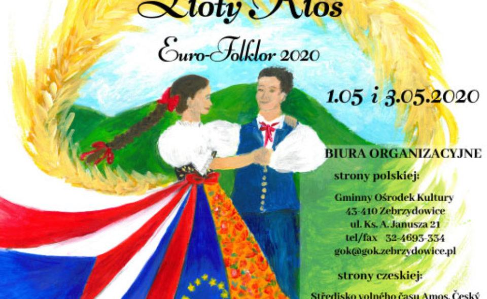 """27. Międzynarodowy Przegląd Zespołów Regionalnych """"Złoty Kłos Euro-Folklor 2020"""", Zebrzydowice, 1-3 maja <span class="""