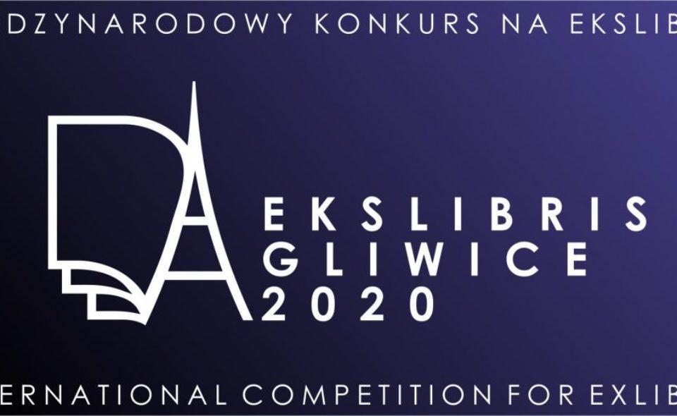XIII Międzynarodowy Konkurs na Ekslibris, Gliwice 2020, Gliwice, 10 kwietnia-7 września 2020 r. <span class=