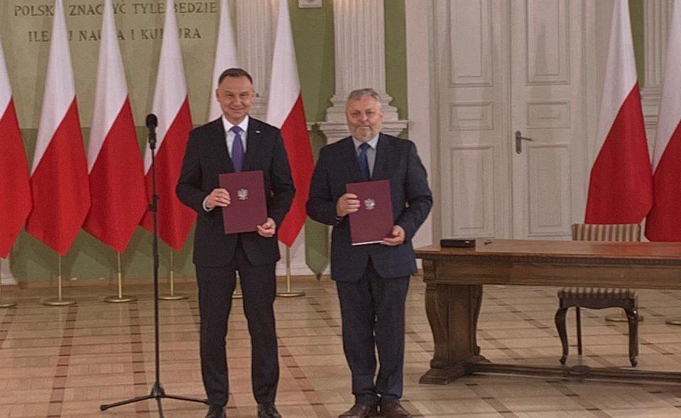 Podpisanie umowy programowej z Krajową Radą Izb Rolniczych