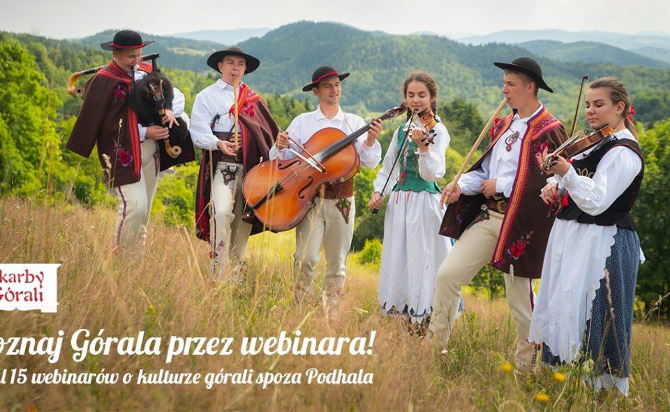 Cykl 15 webinarów o kulturze górali spoza Podhala