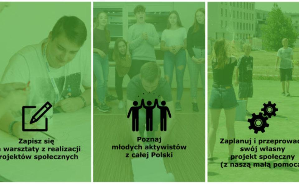 Fundacja zaprasza młodzież do programu Pole Działania!