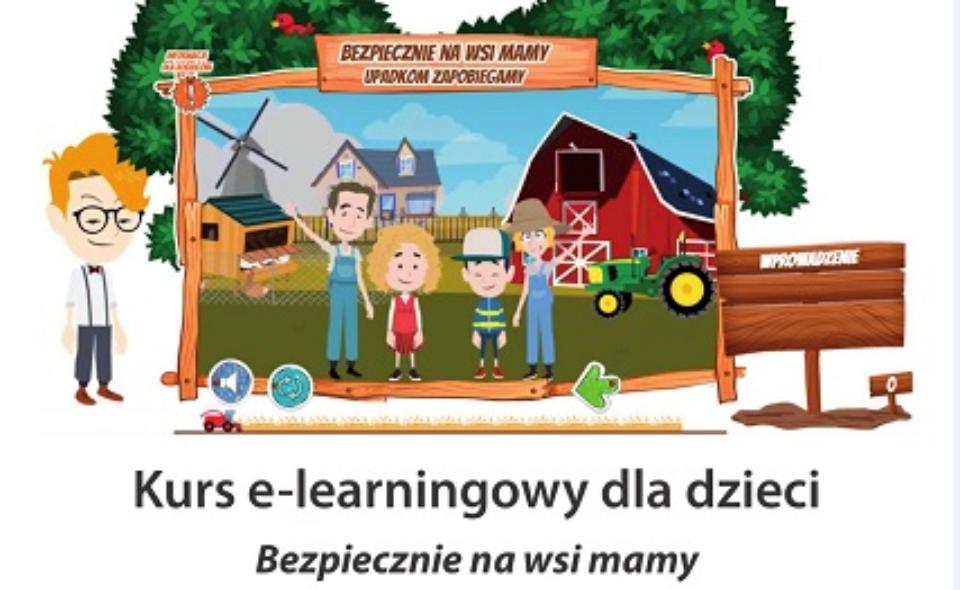 """""""Bezpiecznie na wsi mamy – upadkom zapobiegamy"""" – konkurs e-learningowy"""