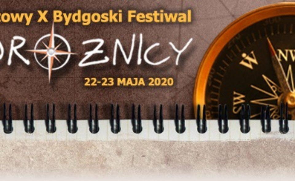 10. Bydgoski Festiwal Podróżniczy. Bydgoszcz, 4-5 września 2020 <span class=