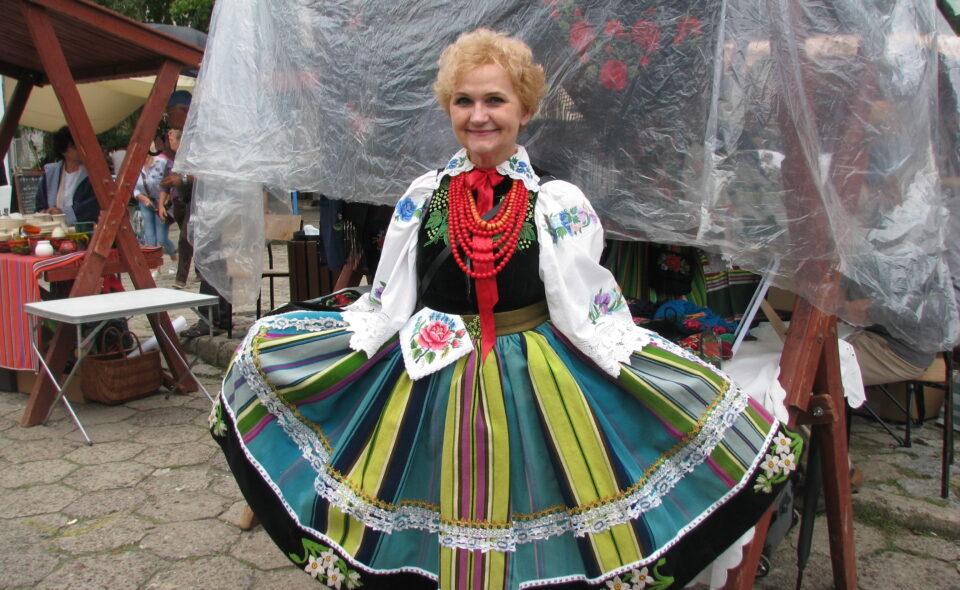 Anna Staniszewska  – żywa wizytówka folkloru łowickiego