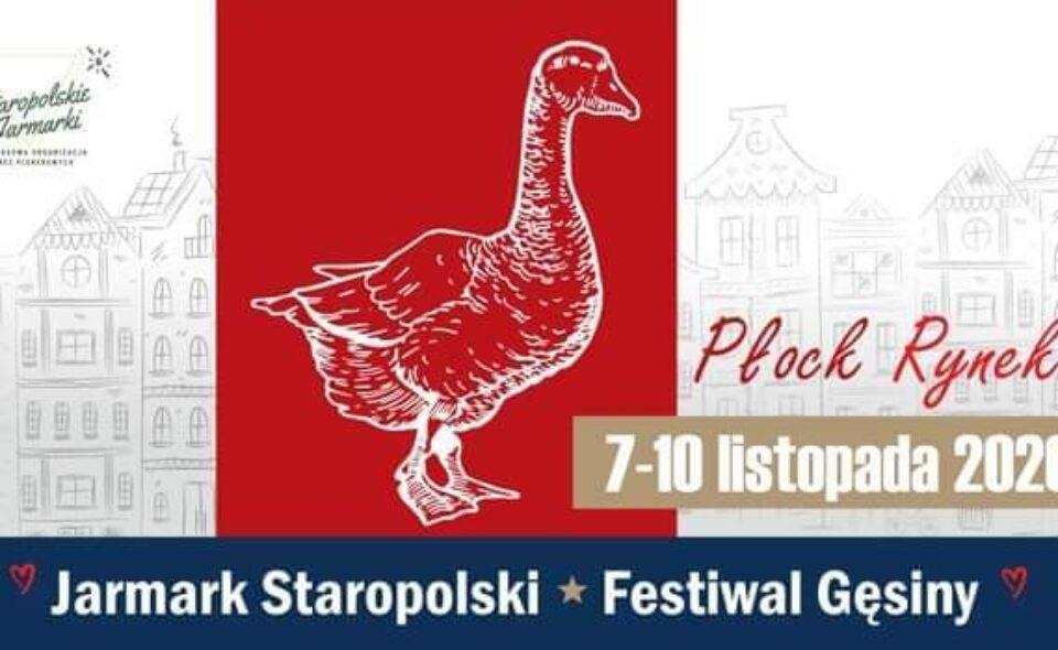 Jarmark Staropolski *Festiwal Gęsiny, Płock, 7-10 listopada 2020 r.