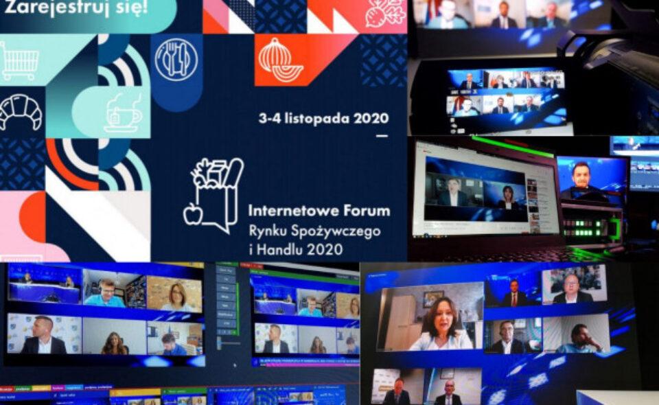 Internetowe Forum Rynku Spożywczego i Handlu – 3-4. listopada 2020 r.