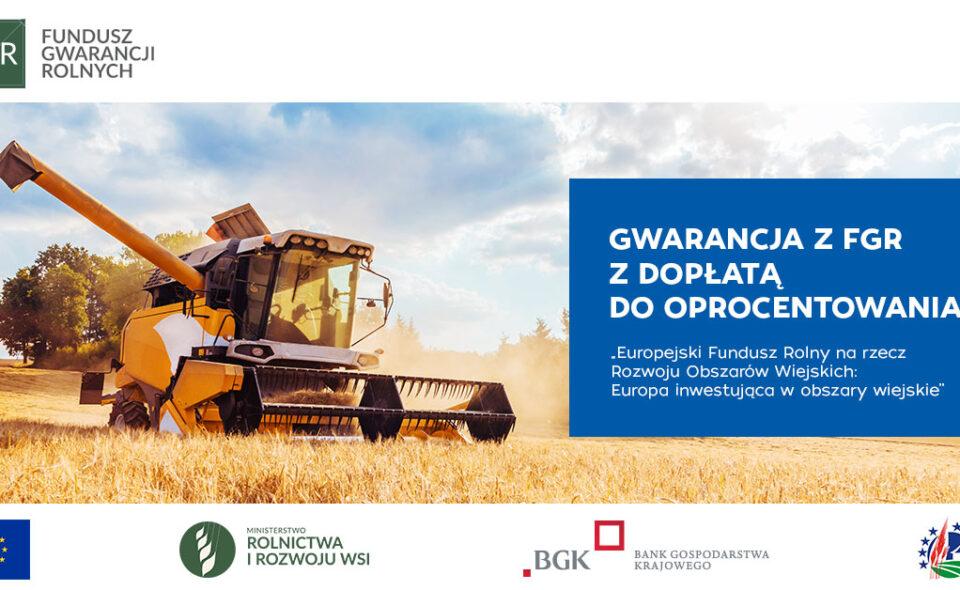 Kampania informacyjna promująca Fundusz Gwarancji Rolnych
