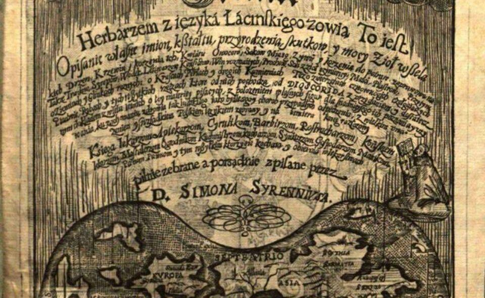 Zielnik Herbarzem … Cracoviae, 1613 rok