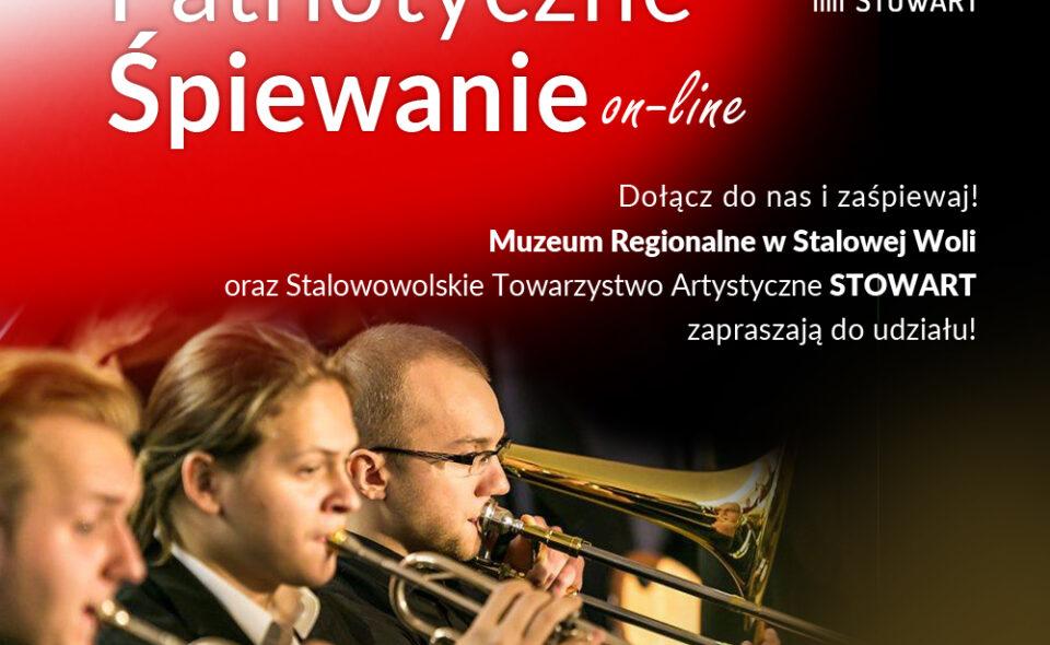 """""""Patriotyczne śpiewanie online""""- Stalowa Wola, 11. listopada 2020 <span class="""