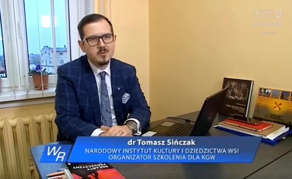 """O wydarzeniach online skierowanych do KGW w """"Wiadomościach Rolniczych"""" TVP3"""
