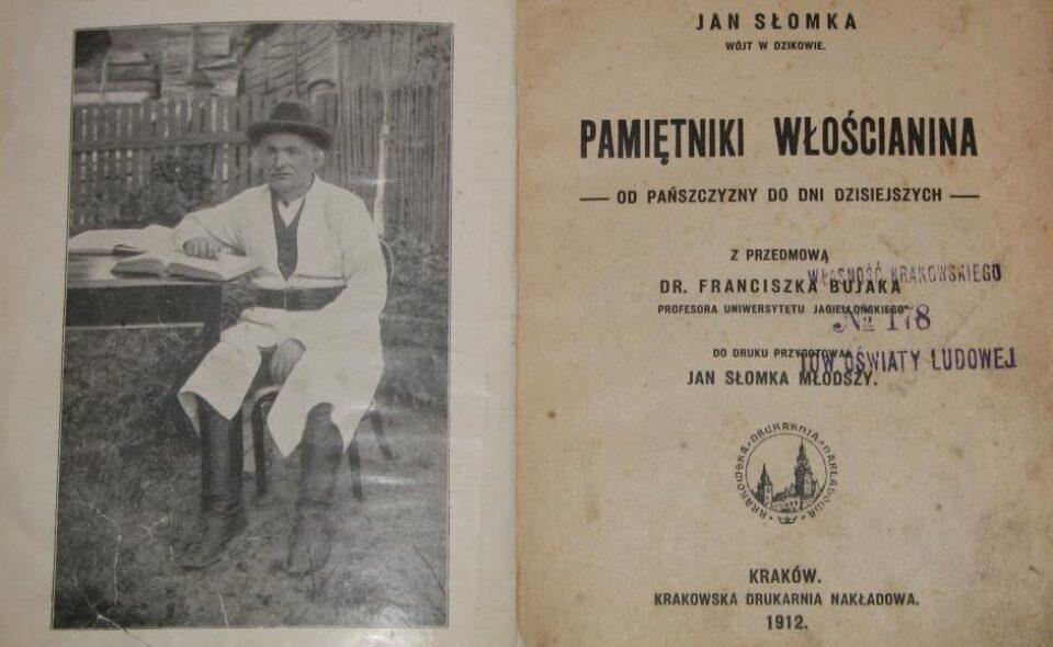 Jan Słomka – Pamiętniki włościanina. Od pańszczyzny do dni dzisiejszych