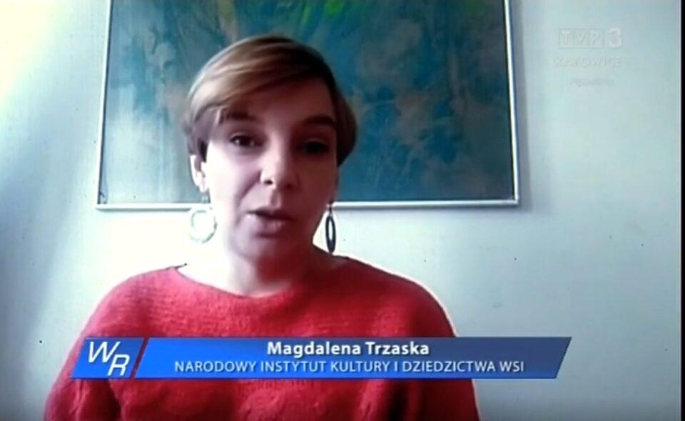 """Akcja NIKIDW """"Aktywiści wiejscy"""" w TVP 3 Katowice"""