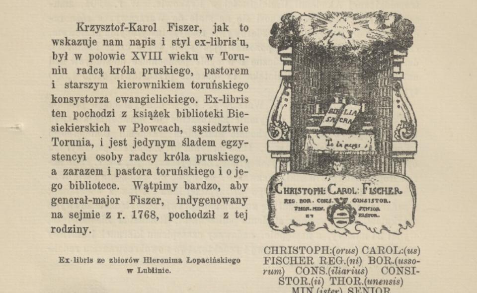 Wiktor Wittyg – Ex-librisy bibliotek polskich