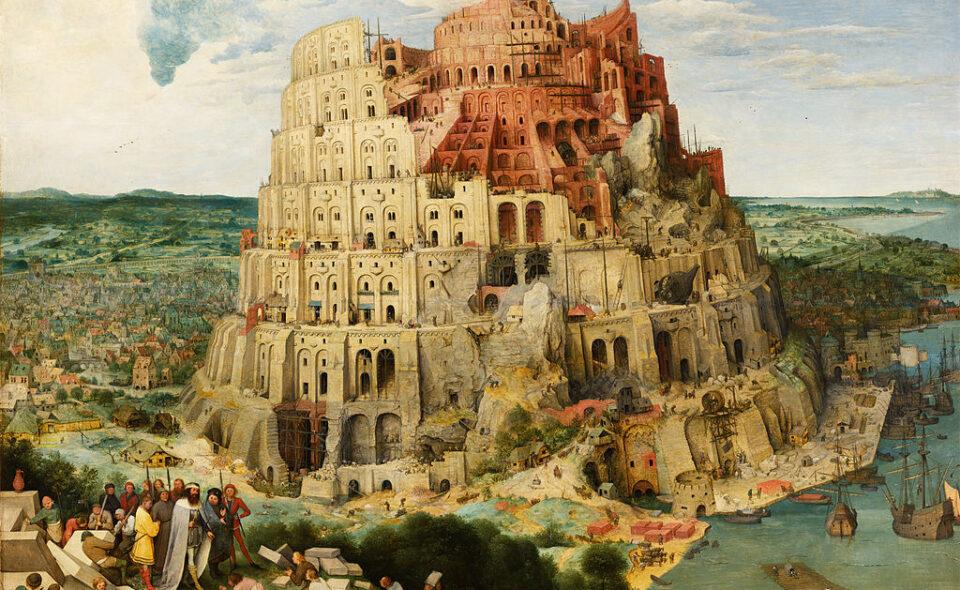 Wokół wieży Babel. Rozważania o pochodzeniu języka