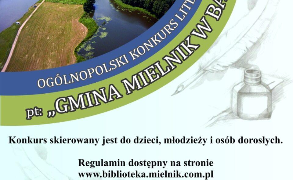 """Ogólnopolski konkurs literacki pt.: """"Gmina Mielnik w bajce"""" – Mielnik, do 31. lipca 2021 r."""