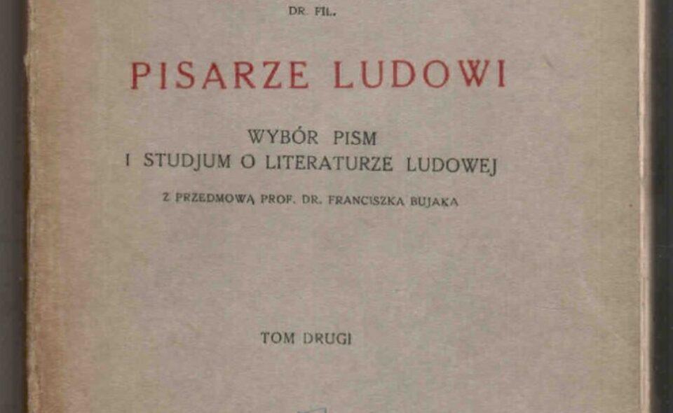 """""""Pisarze ludowi"""" Konińskiego 1938 rok"""