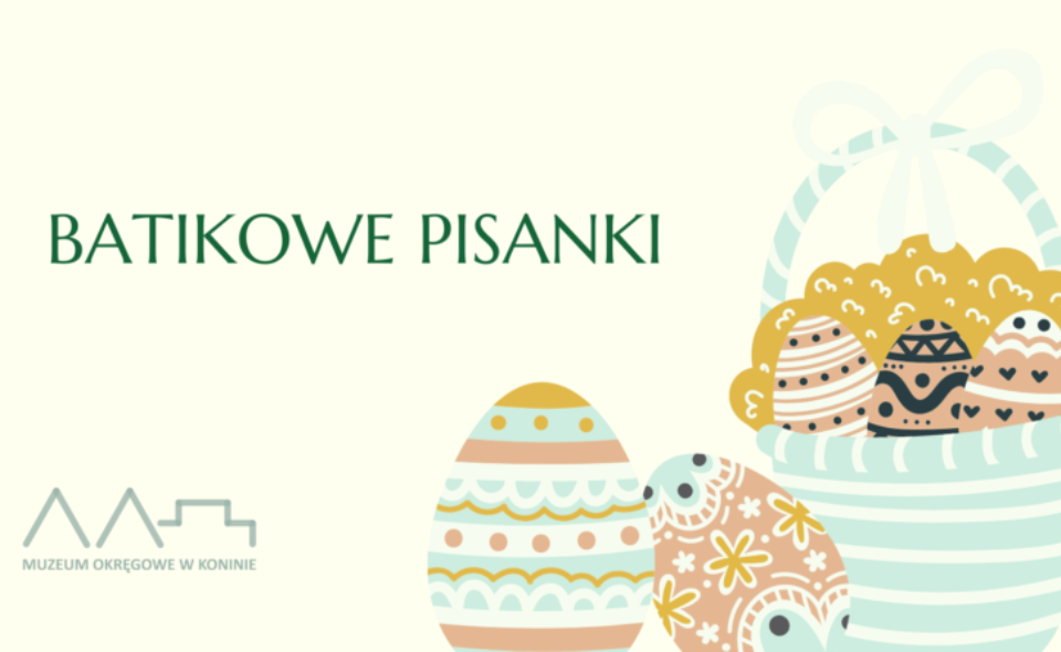 """Rodzinne warsztaty pn. """"Batikowe pisanki"""" – Konin, 20 oraz 28. marca 2021r. <span class="""