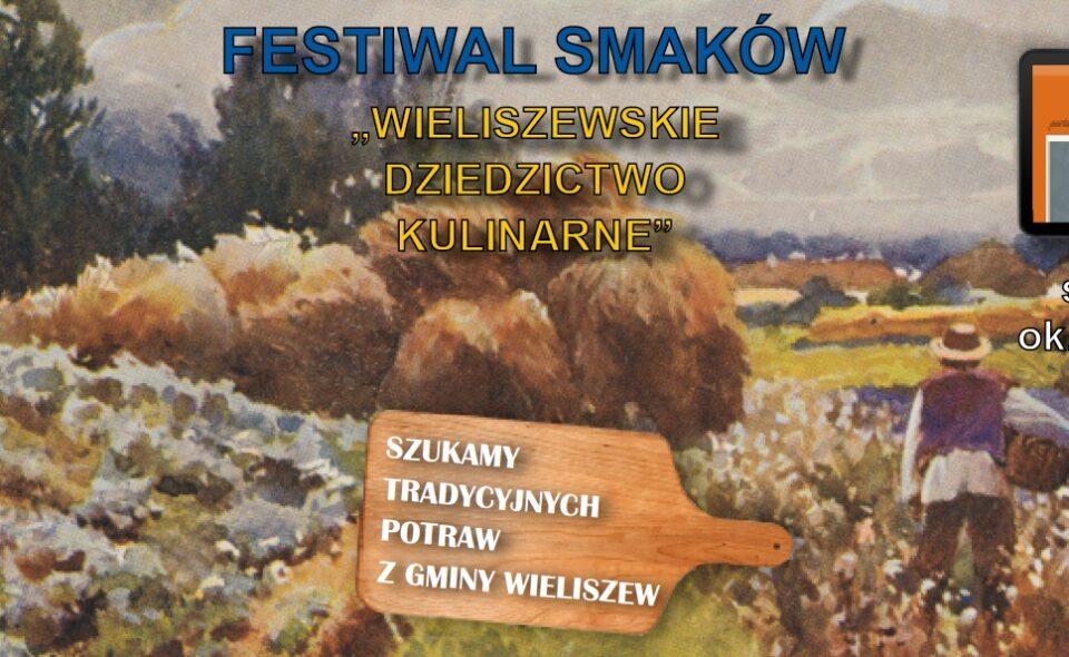 """Festiwal Smaków pt. """"Wieliszewskie Dziedzictwo Kulinarne"""" – Wieliszew, zgłoszenia do 26. marca 2021r. <span class="""
