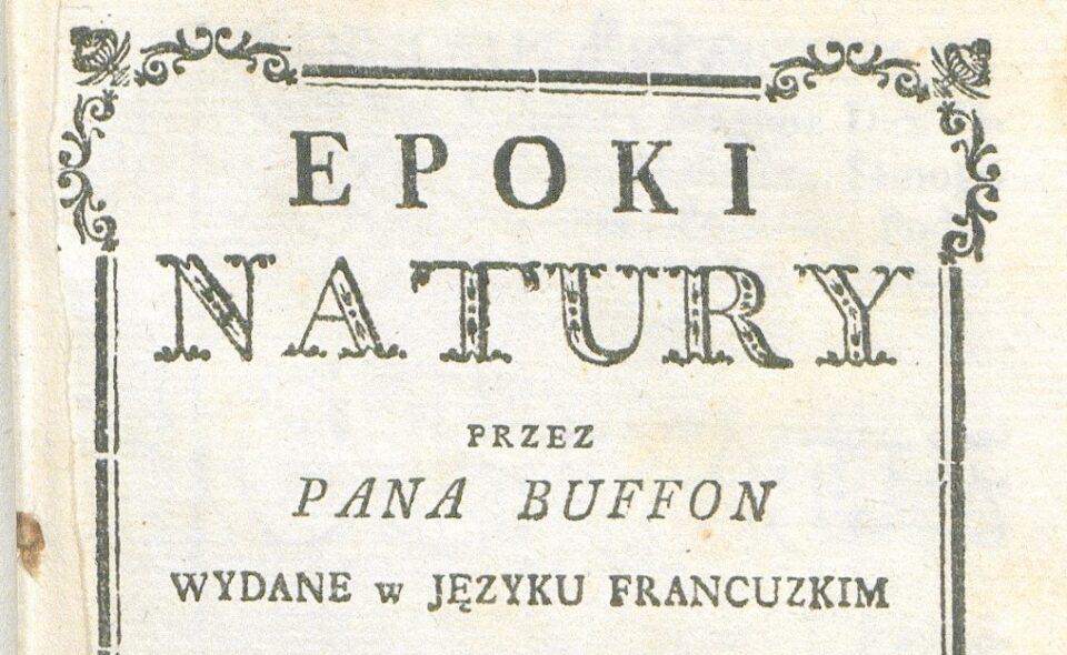 """Epoki natury"",  Warszawa, 1786"