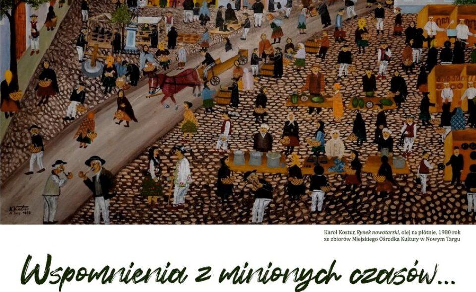 """Wystawa pn. """"Wspomnienia z minionych czasów…Malarstwo Karola Kostura""""– Nowy Targ, 11. Maja – 31. Sierpnia 2021 r. <span class="""