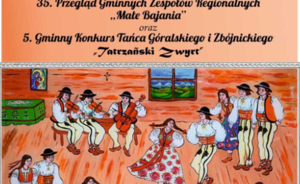 Przegląd Gminnych Zespołów Regionalnych – Bukowina Tatrzańska, 29-30. maja 2021 r. <span class=