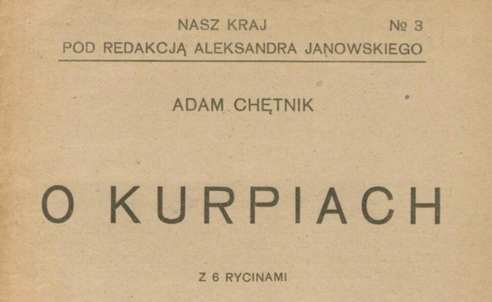 O Kurpiach, Warszawa 1919