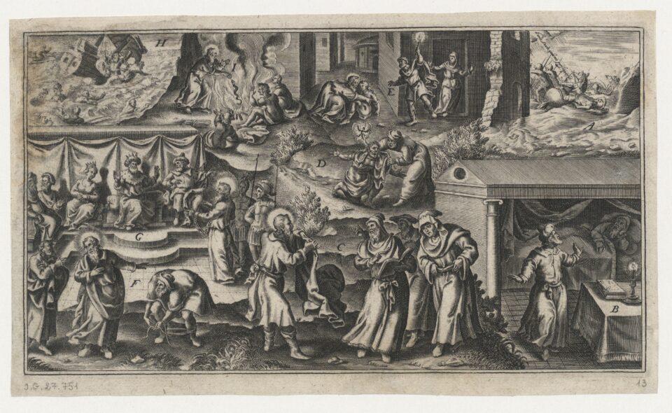Kiedy święty Piotr grzeje, za wiosną jeszcze trzykroć kur zapieje