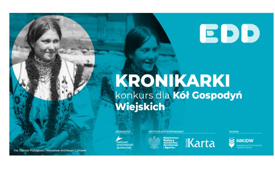 """""""Kronikarki"""" konkurs dla KGW pod patronatem Instytutu!"""