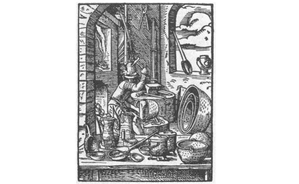Kotlarze na św. Wita – zapomniani mistrzowie kształtowania naczyń metalowych