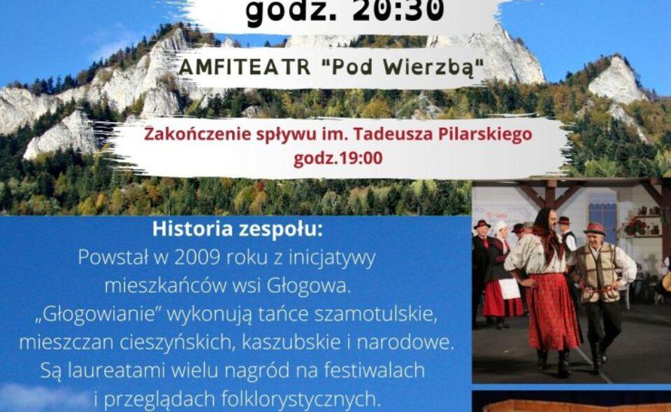 """Występ Zespołu Tańca Ludowego """"Głogowianie"""" – Krościenko, 5. czerwca 2021 r. <span class="""