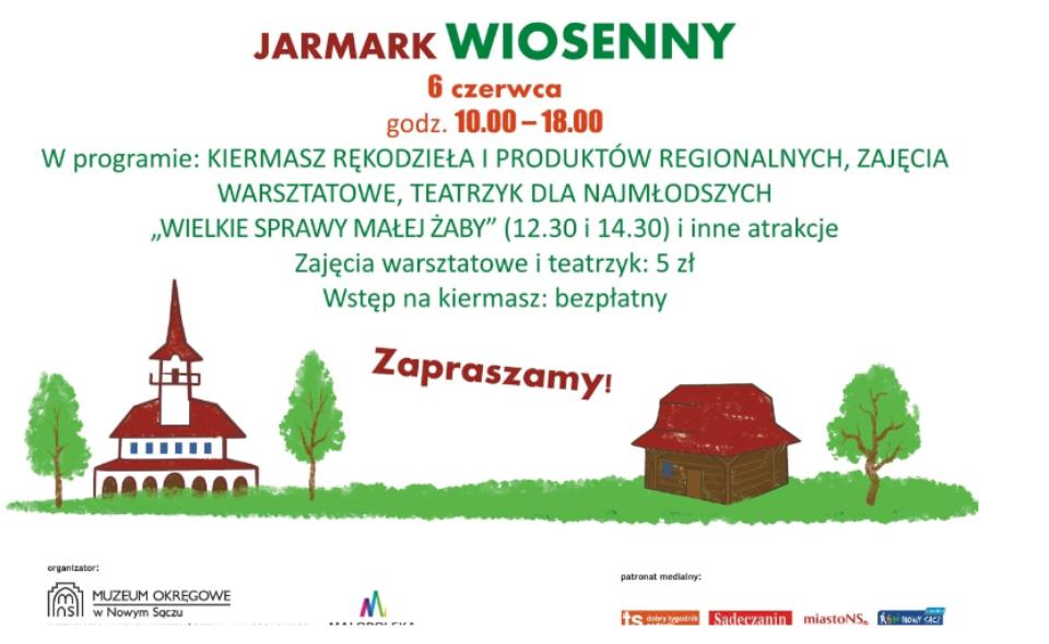Jarmark wiosenny w Miasteczku Galicyjskim – Nowy Sącz, 6. czerwca 2021 r. <span class=