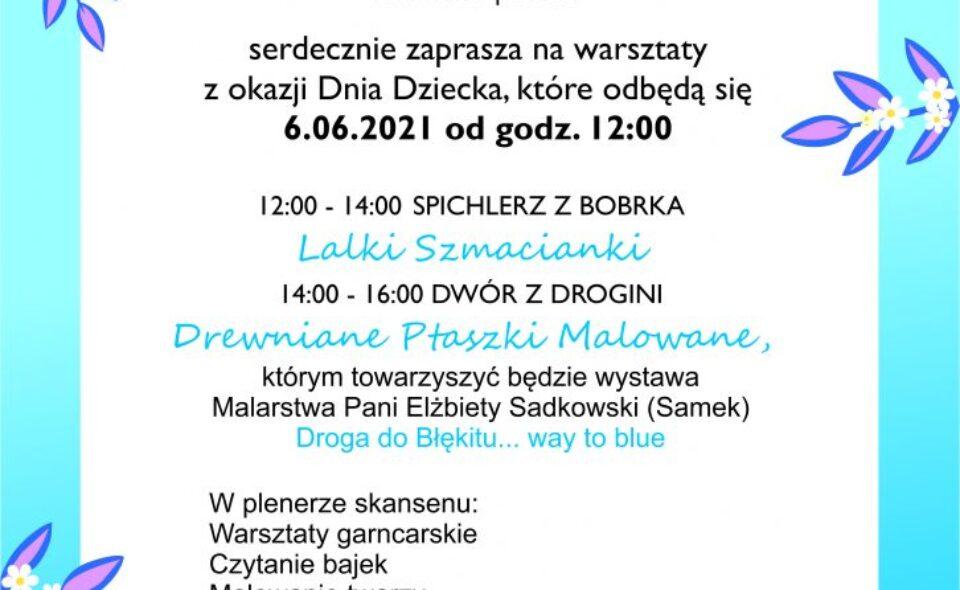 Warsztaty rękodzieła dla dzieci – Wygiełzów, 6. czerwca 2021 r. <span class=
